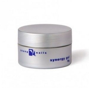 Young nails white sculpture gel