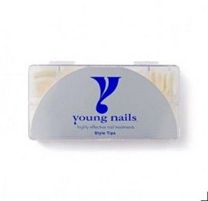Young nails tip natural curve 500 master pack