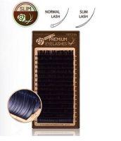 Neicha Premium Slim Lashes C curl 0.20  zijn matte wimperextensions en plat ipv rond, waardoor je een veel beter hechting krijgt