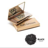 Fab Brows in de kleur Black, in een lux doosje met spiegeltje om de mooiste wenkbrauw creaties te maken