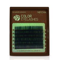 Neicha Color Lashes gren C krul 0.20 , mooie wimperextensions om een super gave look te creeëren