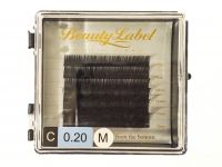 Beauty Label C krul nieuw mixed mini tray super zachte volume wimpers voor de proffesionele wimperstyliste te gebruiken.