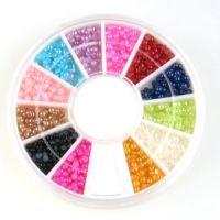 12 Kleuren parel wheel