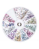 Quida wheel drop 2 mm color ab