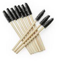 Bamboe Mascara Borsteltjes Zwart (25 stuks)