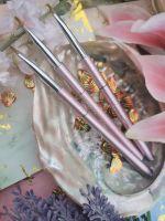 Roze Nail Art Penseel met dop nr. 4