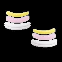 Lash Lift Pads, 3 paar in een zakje