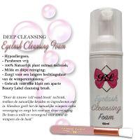 Beauty Label Lash Foam 60ml + Cleansing brush