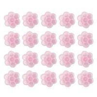 OML Pink Flower Glue Cup (10 stuks)