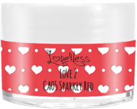 LoveNess | CA05 Sparkly Red