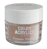 Color Acrylics by #LVS   CA25 Sweater Weather 7g