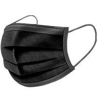 mondkapjes 50 stuks zwart