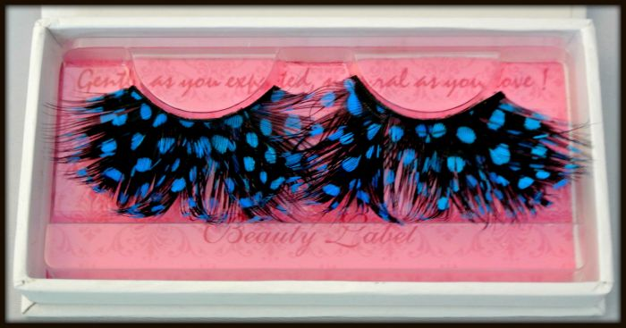 Beauty Label Feather Lashes Blue